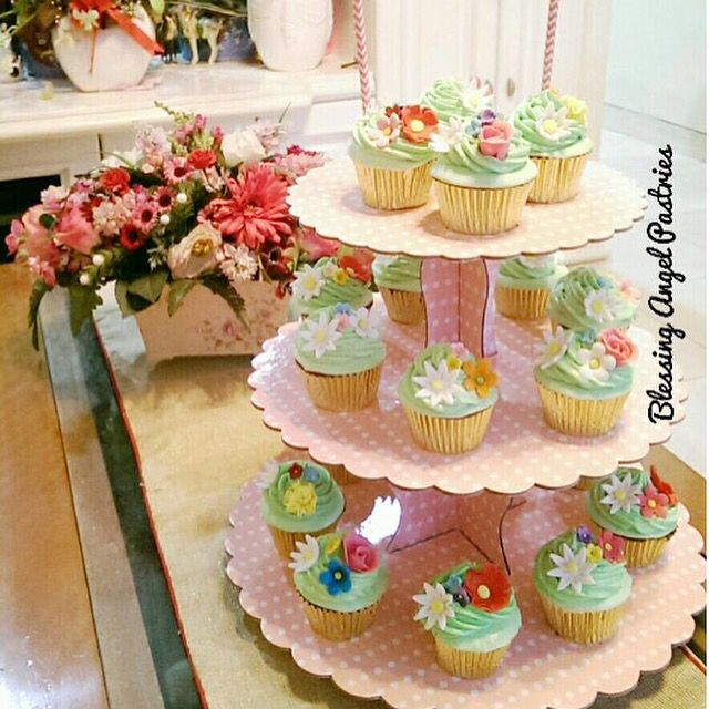 Want to taste cupcakes made by angels? Try @blessingangelpastries cupcakes. Location: Tangerang