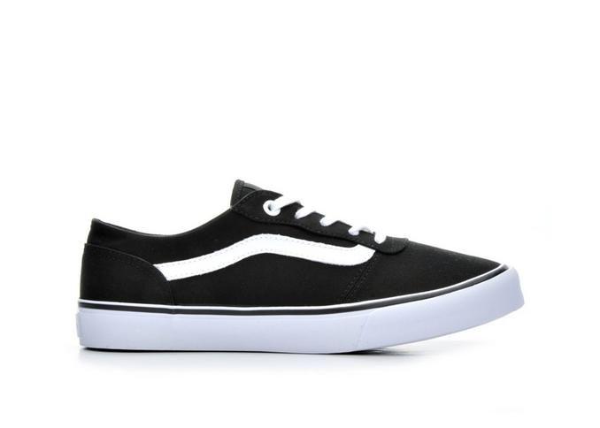 Women's Vans Milton Black/White | Shoe Carnival