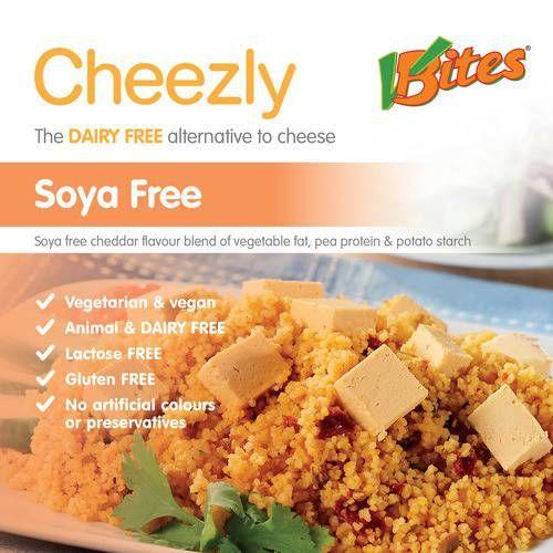 Vbites Soya Free Cheddar Style Cheezly 190g
