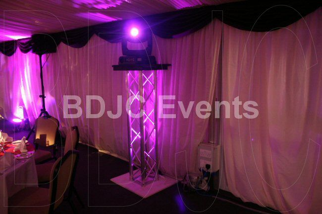 High end moving head lighting to create the WOW effect