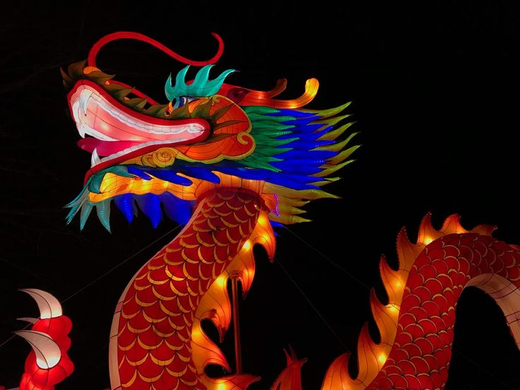 Chinese Giant lantern of China, dragon