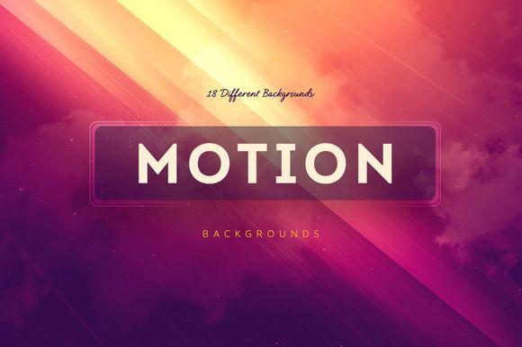 18 Motion Backgrounds V3 by Digital ART on Creative Market