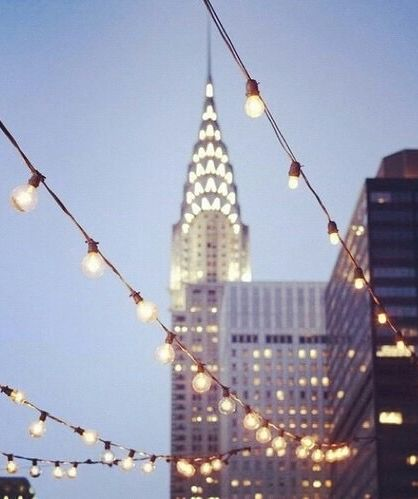 The Chrysler Building…