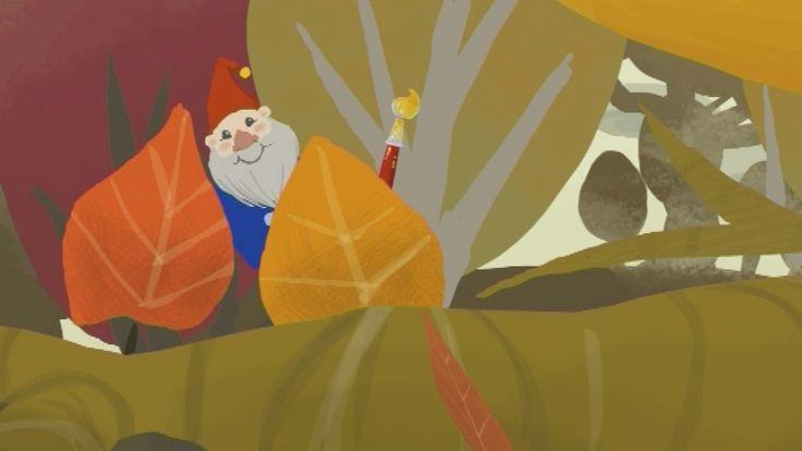 ♪ Een liedje over een heleboel vallende blaadjes in de herfst.