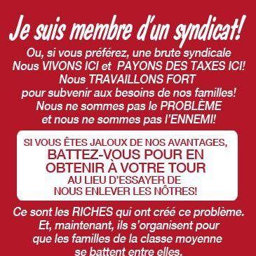 Routier Revendicateur: Le mouvement syndical!