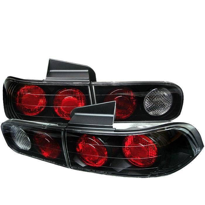 Spyder Tail Lights Acura Integra 94 01 4dr Euro Style Black Acura Integra Acura Spyder Auto