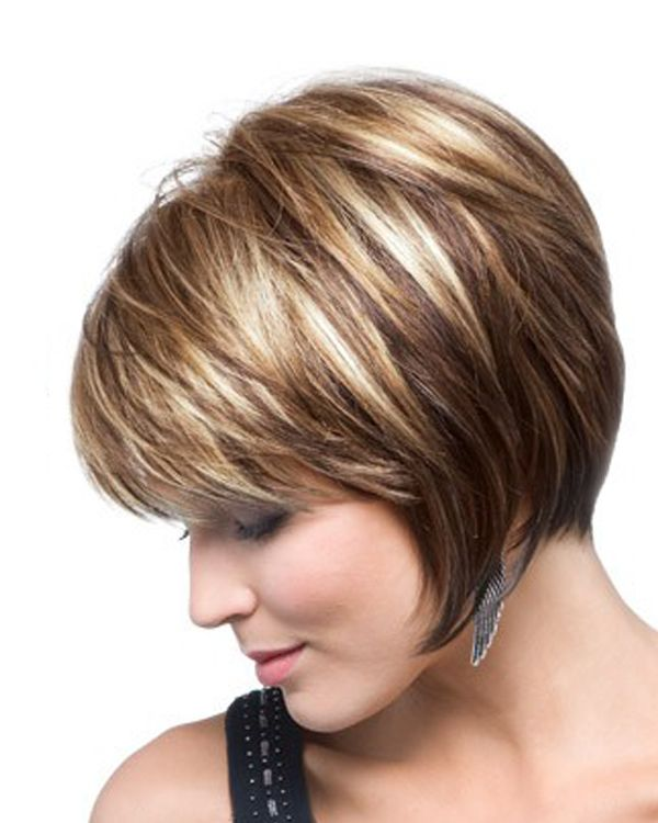 pix for short brown hair highlights and lowlights - Hair Color Highlights Styles