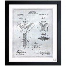 15 best blueprint art images on pinterest blueprint art aircraft zipper 1917 the oliver gal artist co malvernweather Choice Image