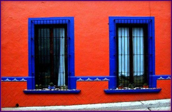 casas azul rustico - Buscar con Google