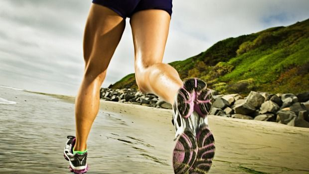 GOOD FOR JOINTS: A new US study found that runners had less knee pain and osteoarthritis.