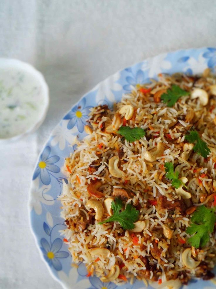 How about making Jackfruit Biriyani (Kathal Biryani) Recipe for dinner where in Tender green raw jackfruit is marinated with biryani spices yogurt and cooked with rice. Serve with Beetroot Raita or Burani Raita. Recipe by Nusrath. -->http://ift.tt/1RJog0Y #Vegetarian #Recipes