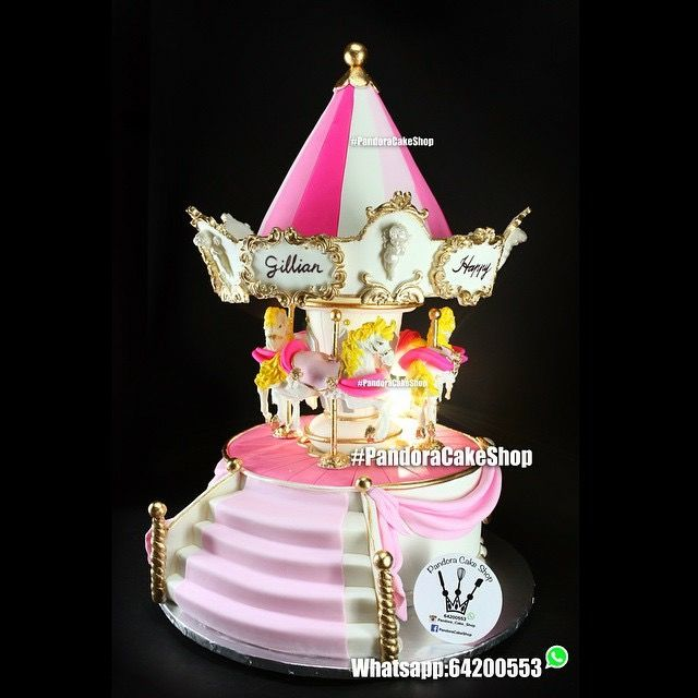 Carousel Cake Roof