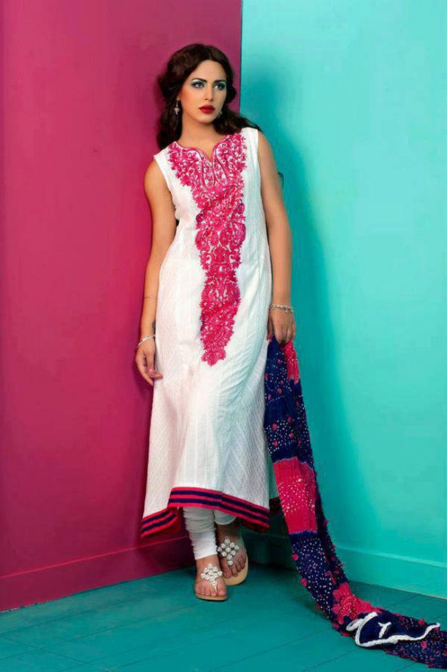Summer dress designs pakistani eye