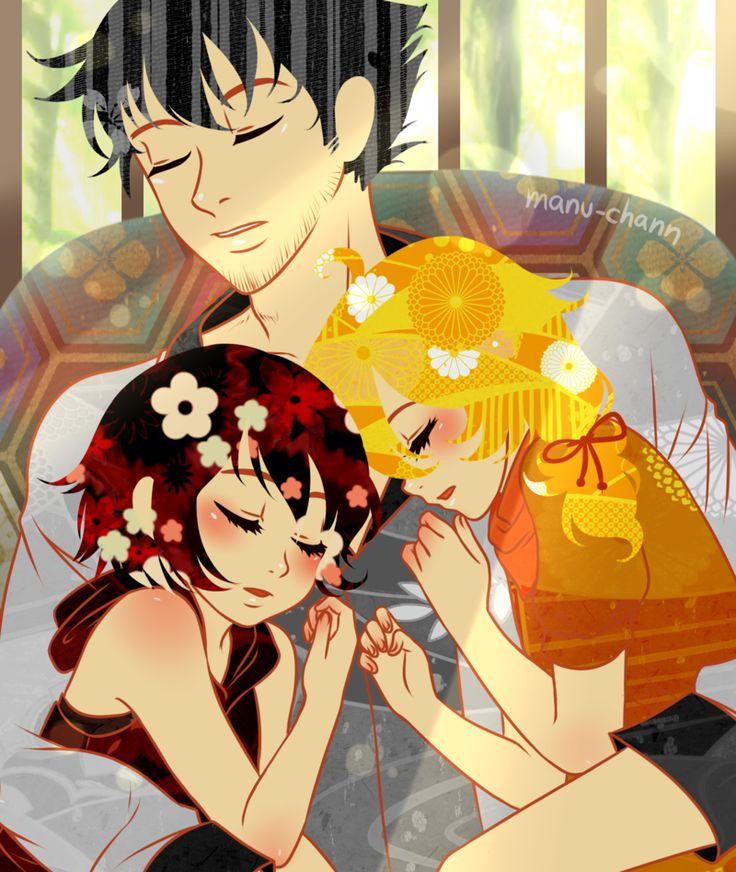 June Patreon Reward: Family Nap by manu-chann