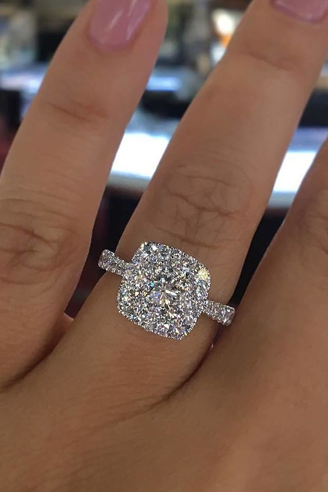 Engagement Ring That Was Created For A Special Bride ❤️ engagement ring whit…
