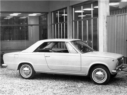Fiat 124 Cabriolet (Touring), 1966 - con hardtop