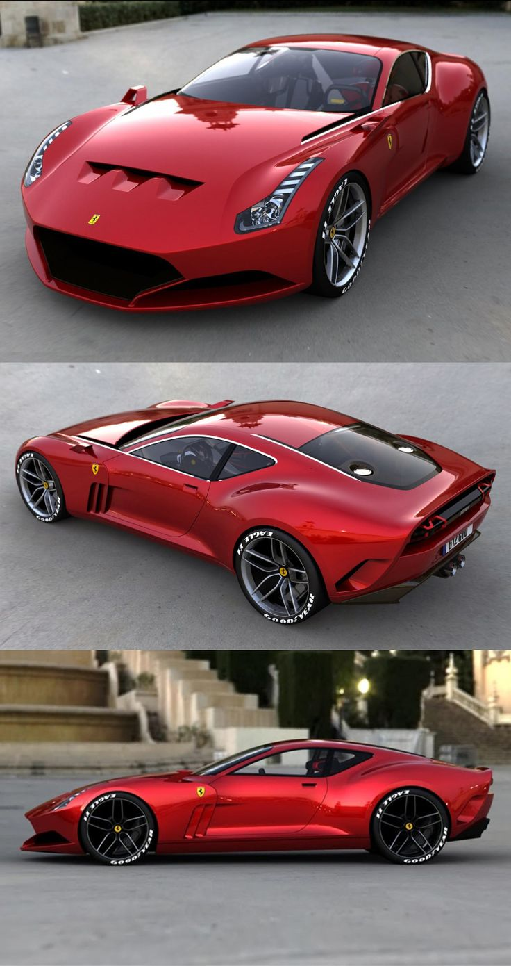 voiture ferrari 612 gto design voiture de sport pinterest voitures voitures de sport. Black Bedroom Furniture Sets. Home Design Ideas