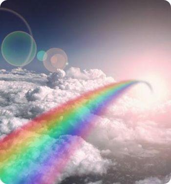 El puente del arco iris