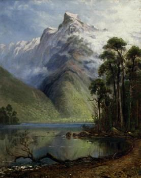 Charles Blomfield. Lake Ada. 1881. Oil, 20 x 16 ins. Auckland City Art Gallery.