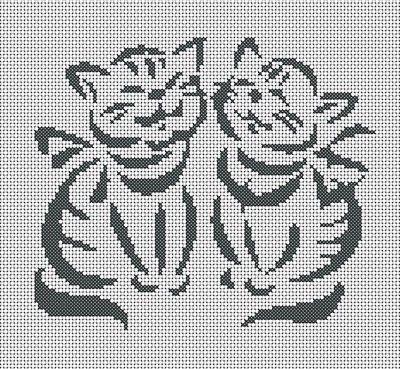 grids cross stitch