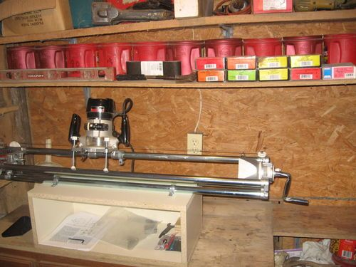 Using the Craftsman Router Crafter