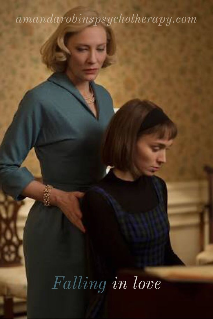 """Cate Blanchett and Rooney Mara in """"Carol"""""""