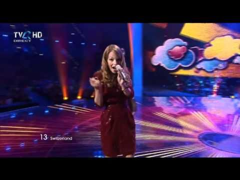 HD Eurovision 2011 Switzerland: Anna Rossinelli - In Love For A While (Final)