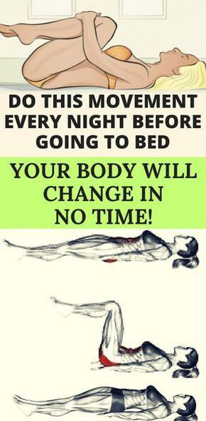 DO THIS BEFORE YOU SLEEP, AND NOTICE YOUR BODY WILL CHANGE IN NO TIME! – Medi Idea