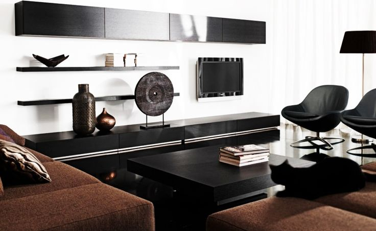 Furniture, Fancy Modern Brown Sofa Contemporary Living Room Furniture: Modern Contemporary Furniture Design Ideas for Elegant Living Room