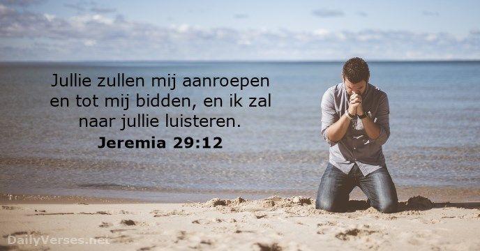 Jeremia 29:12 - dailyverses.net