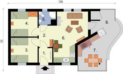 Gotowe projekty domów, projekty garaży murowane i z drewna - projekty domów jednorodzinnych