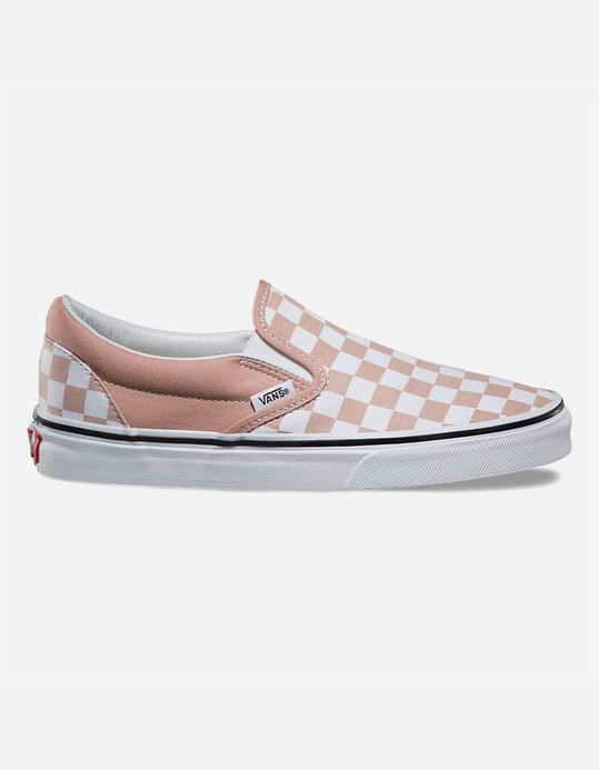 VANS Checkerboard Slip-On Womens Shoes | @giftryapp