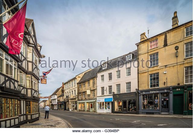 Cirencester Cotswolds Town Street Stock Photos & Cirencester ...