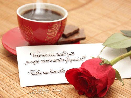 Bom Dia Romantico Imagens: Café Com Flores - Pesquisa Google