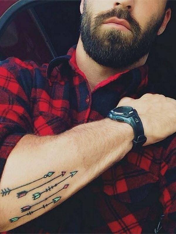 50+ Positive Arrow Tattoo Designs and Meanings - Good Choice tatuajes   Spanish tatuajes  tatuajes para mujeres   tatuajes para hombres   diseños de tatuajes http://amzn.to/28PQlav