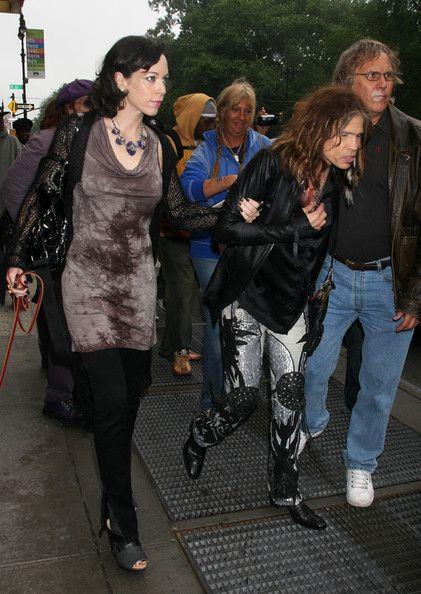 Steven Tyler's Current Girlfriend | steven tyler girlfriend out in new york city in this photo steven ...