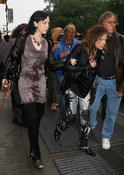 Steven Tyler's Current Girlfriend | steven tyler girlfriend out in new york city in this photo steven ...