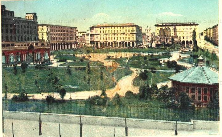 Vanished Rome - Piazza Vittorio