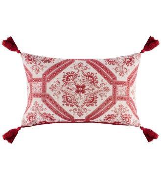 Mayhew Cranberry Cushion - 40cm x 60cm - Cushions