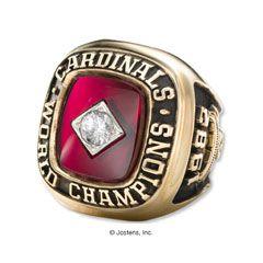 St. Louis Cardinals 1982 World Series Championship Ring