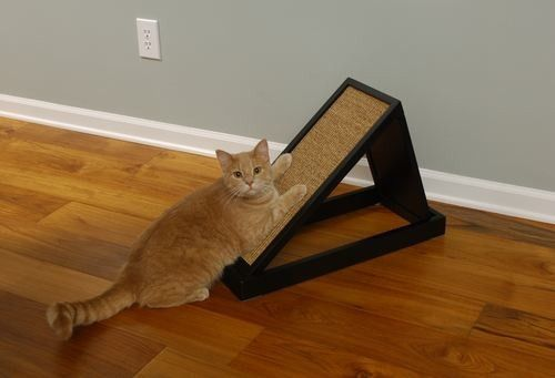 Craftsman Series Combo Scratching Platform-Available in Two Colors-$59.95 | www.activedogtoys.com #fun #cat_toys