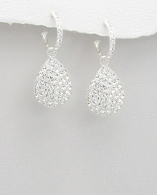 silver vogue - Beautiful Crystal Glass Earrings, $30.00 (http://www.silvervogue.com.au/beautiful-crystal-glass-earrings/)