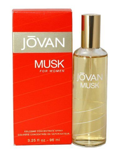 Jovan Musk By Jovan For Women. Eau De Cologne Spray 3.25-Ounces by Jovan. $11.13. Packaging for this product may vary from that shown in the image above. This item is not for sale in Catalina Island. Jovan Musk Perfume Eau De Cologne Spray 3.25 Oz for Women by Coty.. Save 47%!