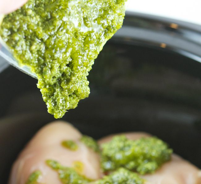Pip & Ebby - Pip-Ebby - Slow cooker pesto ranch chicken