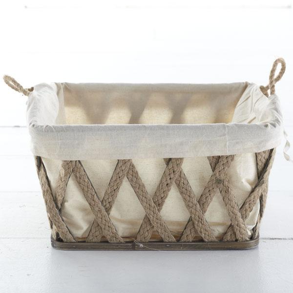 Wisteria Accessories Storage Big Bountiful Basket