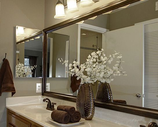 Frame A Bathroom Mirror In Minutes With MirrorMates Custom Kit Styles Made For The Bath