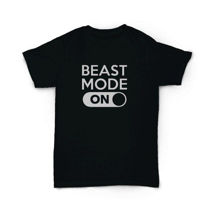 Beast Mode On Fitness Crossfit T-Shirt  BallzBeatz . com