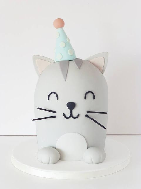 Peaceofcake ♥ Sweet Design: Cat Cake • Bolo Gato