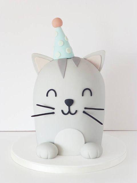 Peaceofcake ♥ Sweet Design: Cat Cake • Bolo Gato