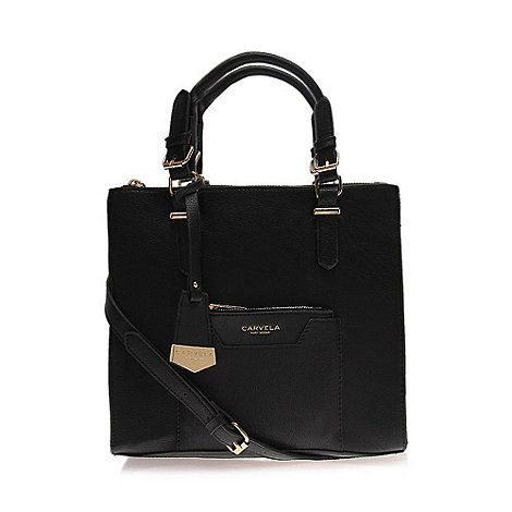 Carvela Black 'Aurelie' handbag | Debenhams